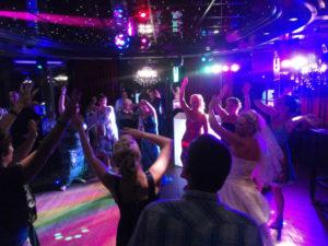 bruiloft dj show