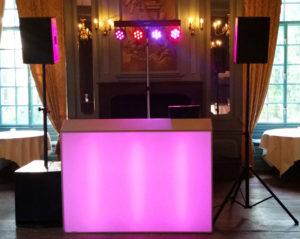 Bruiloft dj show Intiem